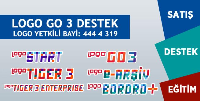 Logo Go 3 Destek, Logo Go 3 Destek İstanbul