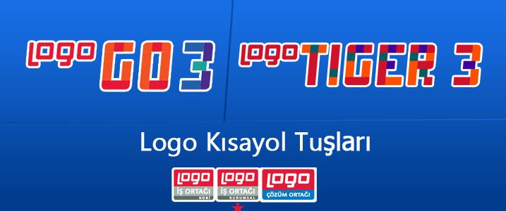 logo yazılım kısayol tuşları,go3 kısayol tuşları,tiger kısayol tuşları